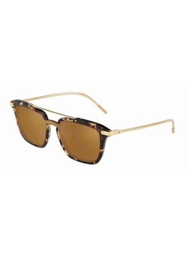 Dolce&Gabbana Dolce & Gabbana 4327 31696H 20 Ekartman Unisex Güneş Gözlüğü Kahve